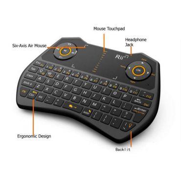 Wireless Gaming Mini Keyboard Remote
