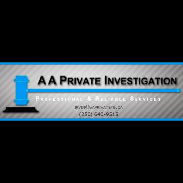AA Private Investigations and Bailiff Service Ltd. logo