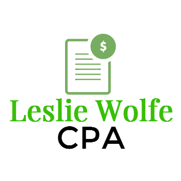 Leslie Wolfe CPA logo
