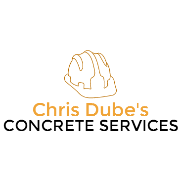 Chris Dube's Concrete Services logo