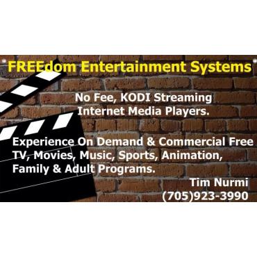 Freedom Entertainment systems  - FeeFreeTV.com PROFILE.logo
