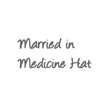 Married in Medicine Hat logo