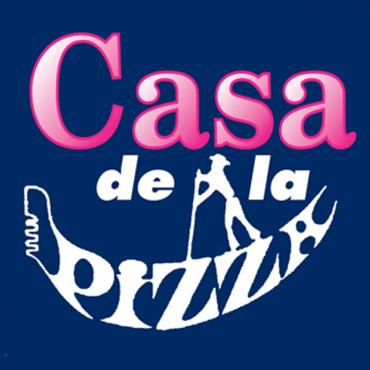 New Casa De La Pizza logo
