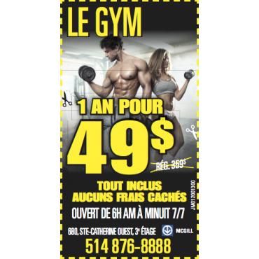 Le Gym logo