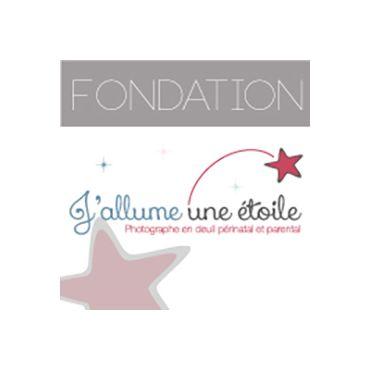 Fondation J'allume une étoile logo