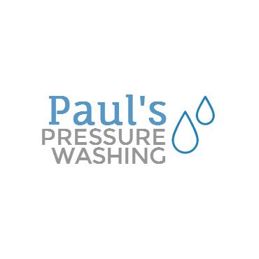 Paul's Pressure Washing logo