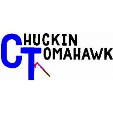 Chuckin' Tomahawk logo