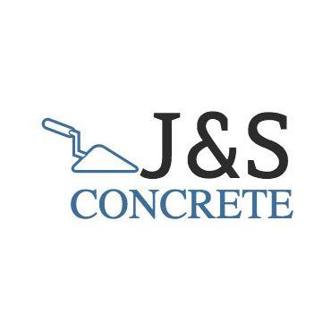 J & S Concrete logo