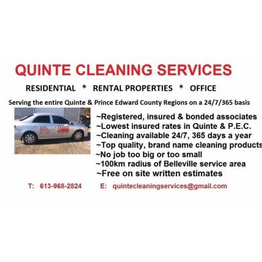 Quinte Cleaning Services PROFILE.logo