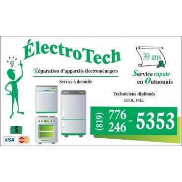 Electro Tech L.J. logo