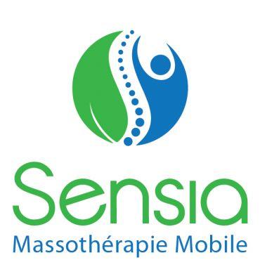 Sensia Massotherapie Mobile logo