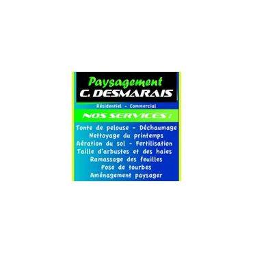 Paysagement C. Desmarais Enr logo