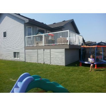 deck enclosure complete