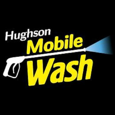 Hughson Mobile Wash logo