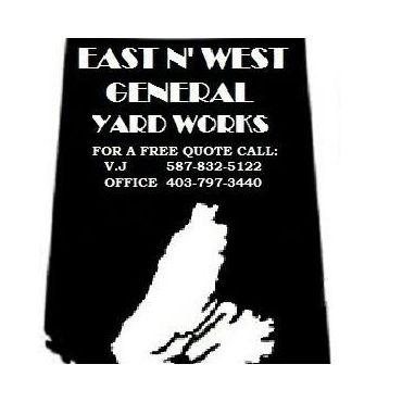 East 'N West Yard Works logo