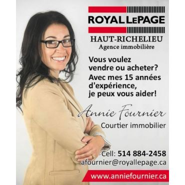 Annie Fournier Courtier Immobilier PROFILE.logo