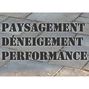 Paysagement Déneigement Performance logo