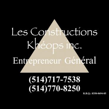 Constructions Khéops Inc logo