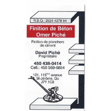 Finition de Béton Omer Piché logo
