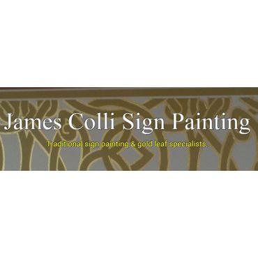 James Colli Sign Painting logo