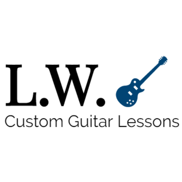 L.W. Custom Guitar Lessons PROFILE.logo