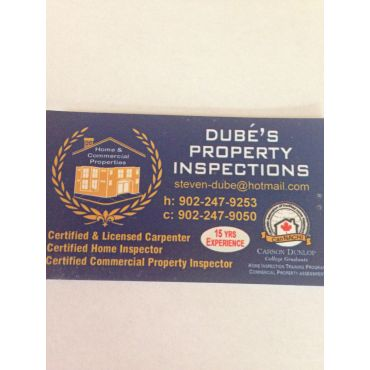 Dube's Property Inspections PROFILE.logo