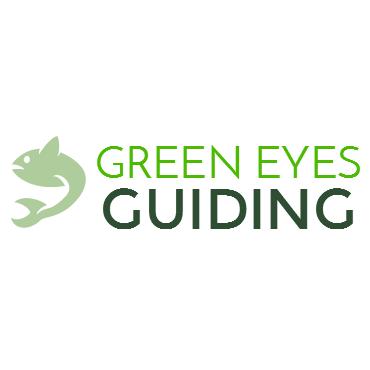 Green Eyes Guiding logo