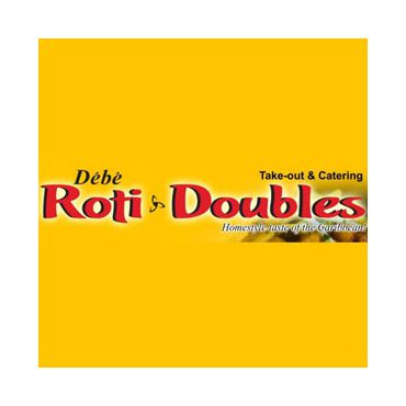 Debe's Roti And Doubles logo