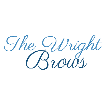 The Wright Brows logo