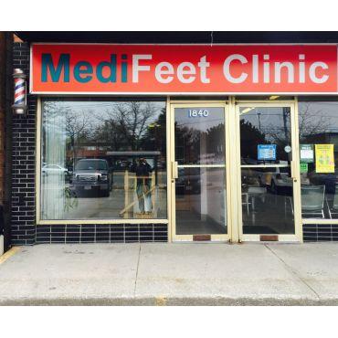MediFeet Clinic & Orthotics Centre PROFILE.logo