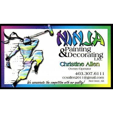 Ninja Painting & Decorating Ltd logo