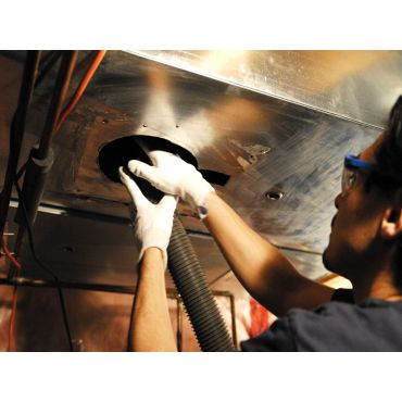 Roto Brush Air Duct Cleaning System