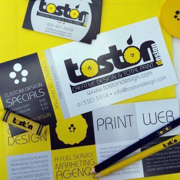 Toston - Design Print Web logo