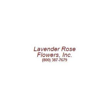 Lavender Rose Flowers logo