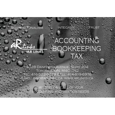 Arlinks -Accounting and Tax Services Inc. PROFILE.logo