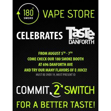 180 Smoke Vape Store PROFILE.logo