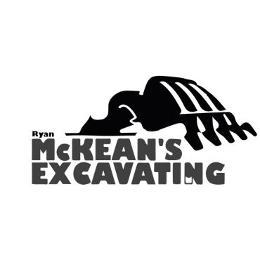 Ryan Mckean's Excavating logo