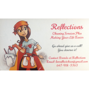 Reflections Cleaning Services Plus logo