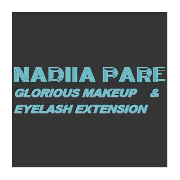 Nadiia Pare - Glorious  Makeup Artist & Eyelash Extension PROFILE.logo