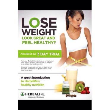 Herbalife Nutrition 3 day trial