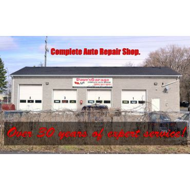 Dave's Garage is a Complete Auto Repair