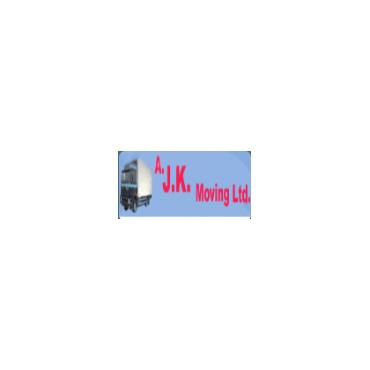 A.J.K. Moving logo