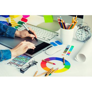 Graphic and logo design services