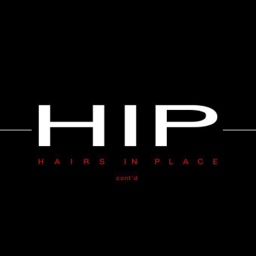 Hairs In Place (H.I.P.) logo