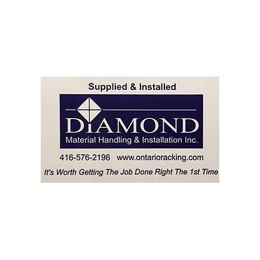Diamond Material Handling & Installation Inc. logo
