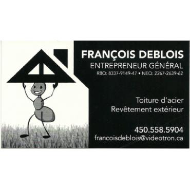 Francois Deblois Entrepreneur Général logo