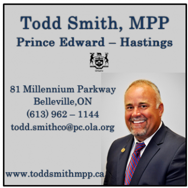 Todd Smith - MPP logo