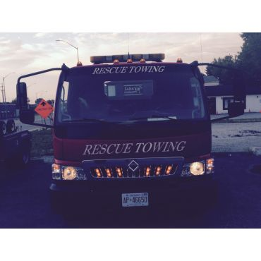 Rescue Towing logo