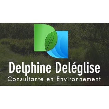 Delphine Deléglise Consultante En Environnement logo