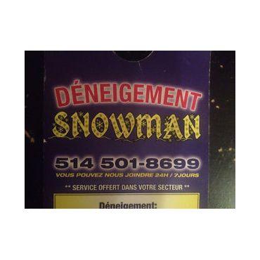 Déneigement Snowman PROFILE.logo